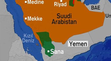 Suudi Arabistan'dan Yemen hamlesi