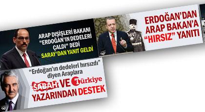 """Fahrettin Paşa'ya """"hırsız"""" diyen Arap Bakanı destekleyen Sabah ve Türkiye yazarı Ekrem Buğra Ekinci'nin sosyal medya sicili"""