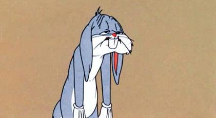 Bugs Bunny'den kötü haber