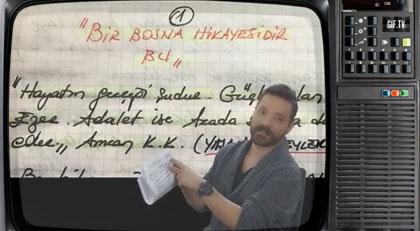 Kaşif Kozinoğlu'nun yazdığı mektubu ilk kez açıkladı