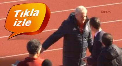 Beşiktaş'ta antrenman öncesi gerginlik