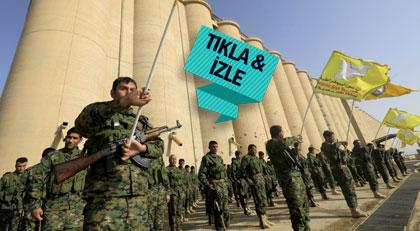 Türkiye'nin Afrin'e girmesine Amerika bu görüntülerle yanıt verdi