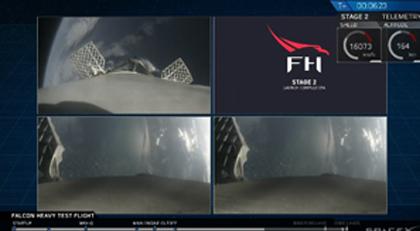 Elon Musk şov yaptı