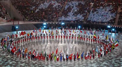 Kış Olimpiyatları'na büyüleyici veda