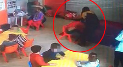 Yine anaokulu yine çocuğa şiddet