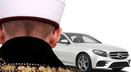 İmamdan temiz Mercedes