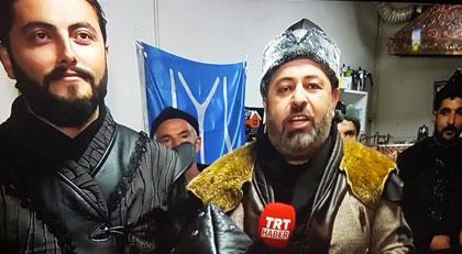 """TRT'de """"yok artık"""" dedirten görüntüler"""