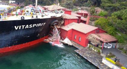 Çarpan gemi hakkında kritik karar