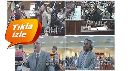 Hilmi Özkök'ün, Mehmet Eymür'ün, Can Dündar'ın ve Aysel Sağlam'ın Ergenekon davasındaki tanıklığı