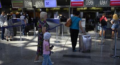 Rusya'da havaalanlarına ilginç yasaklar geliyor