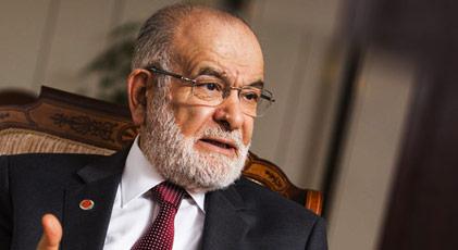 Karamollaoğlu AKP'nin oy oranını açıkladı