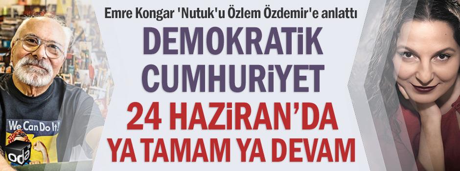 Demokratik cumhuriyet 24 Haziran'da ya tamam ya devam