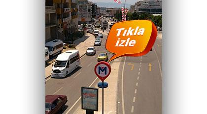 AKP'li belediye olmayan metronun tabelalarını dikti