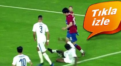 Jübile maçında son golü oğlu attı