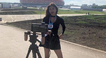 Deutsche Welle muhabirine canlı yayında taciz