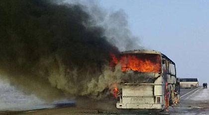 Otobüslerin neden yandığı ortaya çıktı