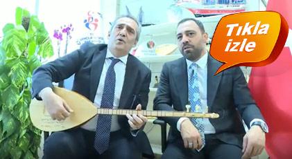 Yavuz Bingöl'den Erdoğan'a armağan