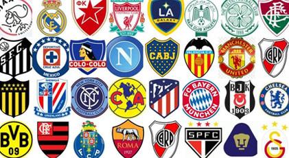 Dünyanın en iyi kulüp logoları belirlendi