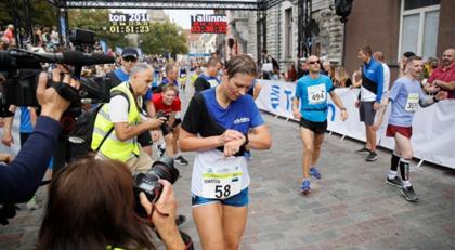 Devlet Başkanı isim değiştirip maratonda koştu