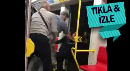 ABD'de metroda ırkçı saldırı