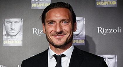 """Totti: """"Hayatımda hiç kitap okumadım"""""""