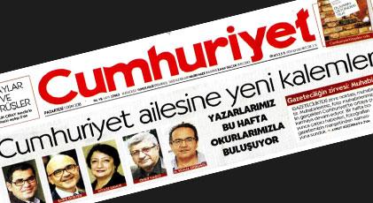 Cumhuriyet'te 5 yeni kalem