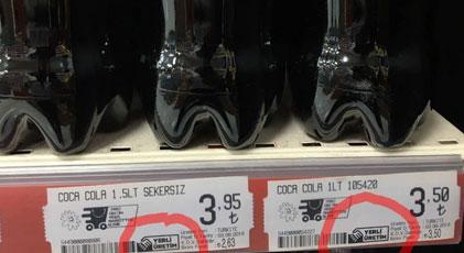 """Coca Cola'da """"yerli malı"""" etiketi kafa karıştırdı"""