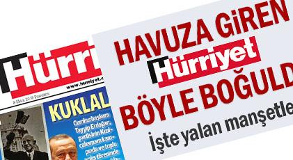 Hürriyet'in o manşetini kendisi de mahkum etti