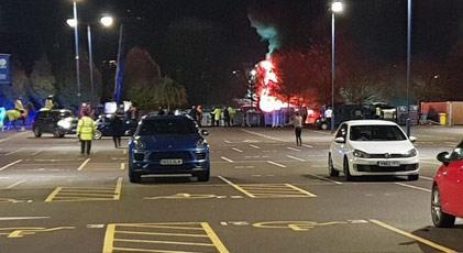 İngiliz kulübünün sahibinin helikopteri düştü