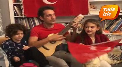 Cumhuriyet'in şarkısını Kıraç'ın çocuklarından dinleyin