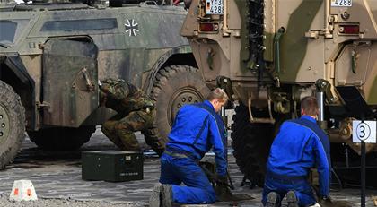 Alman ordusunda skandal
