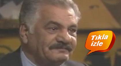 """Türk sinemasının """"kötü adamı""""nın gözleri neden doldu"""