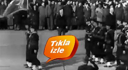 Atatürk'e böyle veda etmiştik