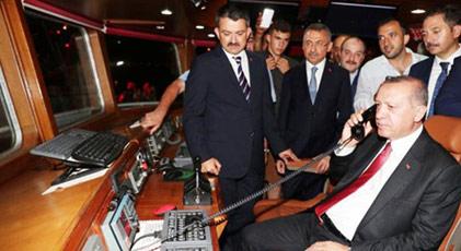 En büyük balıkçı Recep Tayyip Erdoğan