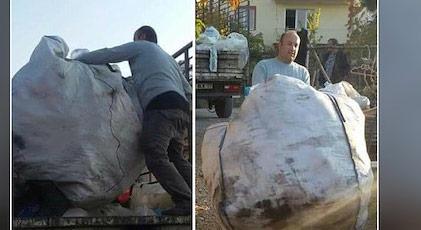 Hendek operasyonlarında yaralandı şimdi çöpten şişe topluyor