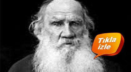Tolstoy'u hiç böyle görmediniz