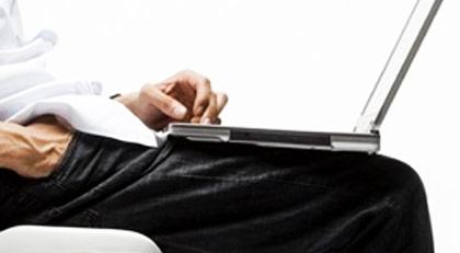 Bilgisayarı kucağınıza koyarak çalışırsanız…