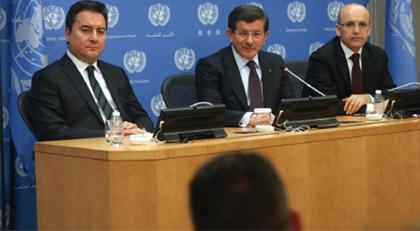 Şüpheliler Ahmet Davutoğlu, Ali Babacan, Mehmet Şimşek