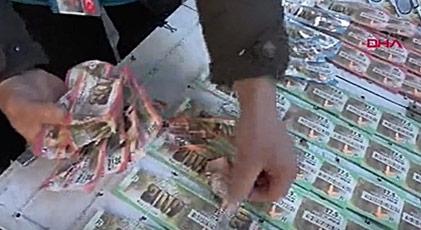 Milli Piyango biletlerine saldırı