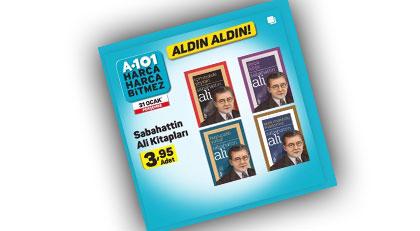 Kim derdi ki A101'de Sabahattin Ali kitabı satılacak