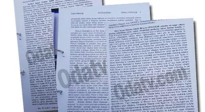 CHP'liler bu raporu konuşuyordu