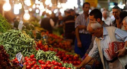 İşte saklanan gıda enflasyonu