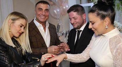 Sedat Peker'den şarkıcıya nişan yüzüğü