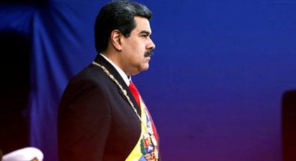 Maduro'dan Kolombiya hamlesi