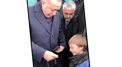 Erdoğan'ın tespihi satılacak mı