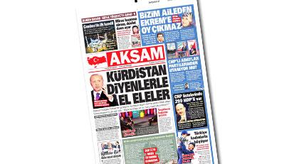 """Akşam gazetesine küçük bir hatırlatma: Aynı """"taktiği"""" AKP de kullanıyor"""