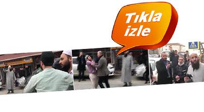 Kabe'de çatışan iki grup bu kez İstanbul'da birbirine girdi