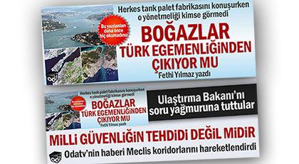 Türk Boğazları için yeni değişiklik
