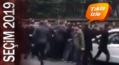 Seçim kavgası sokak saldırısına dönüştü