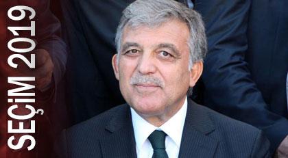 """Abdullah Gül """"bekleyin"""" dedi"""
